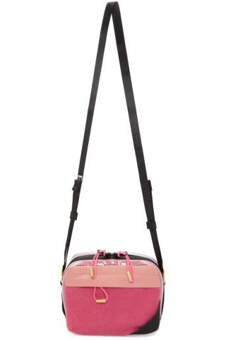 아크네 스튜디오 Acne Studios Pink Blae Konst Hidey Bag