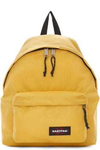 이스트팩 Eastpak Yellow Padded Pakr Backpack