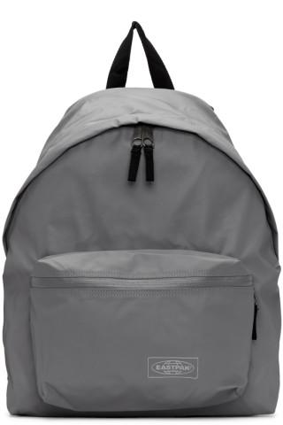 이스트팩 Eastpak Grey Topped Padded Pakr Backpack