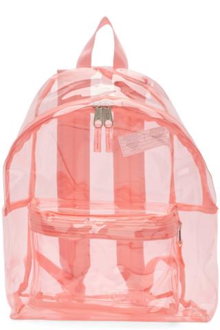 이스트팩 Eastpak Pink PVC Padded Pakr Backpack