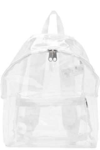 이스트팩 Eastpak Transparent PVC Padded Pakr Backpack