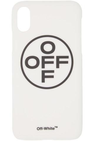 오프화이트 크로스 아이폰X 케이스 화이트 Off-White White Cross Off iPhone X Case