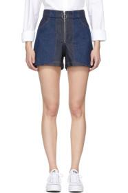 아페쎄 A.P.C. Indigo Denim Chrissie Shorts
