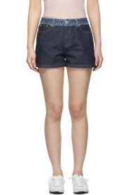 아페쎄 A.P.C. Indigo High Standard Shorts