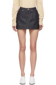 아페쎄 A.P.C. Indigo Denim Miniskirt