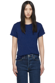 아페쎄 A.P.C. Indigo Millbrook T-Shirt