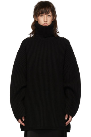 아크네 스튜디오 Acne Studios Black Disa Turtleneck
