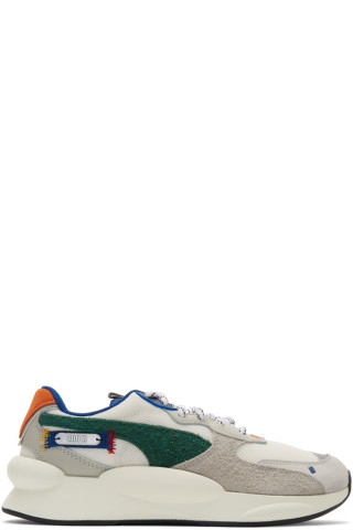 Ader Error White & Multicolor Puma Edition 9.8 Sneakers