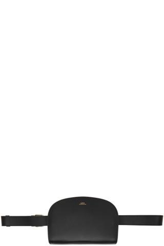 아페쎄 하프문 벨트백 - 블랙 APC Black Demi-Lune Pouch