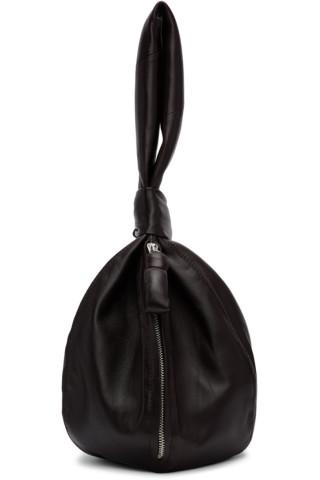 르메르 볼백 Lemaire Brown Ball Bag