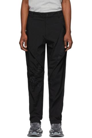 어 콜드 월 바지 A-Cold-Wall Black Lead Contortion Trousers