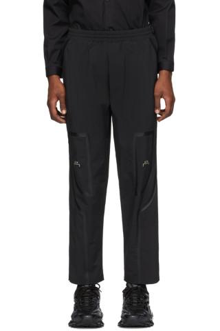 어 콜드 월 트랙 팬츠 A-Cold-Wall Black Bracket Taped Track Pants