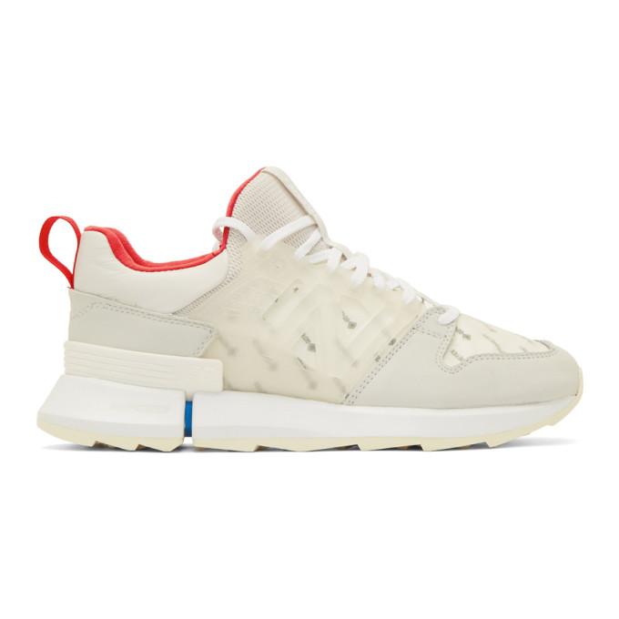 Grey Tokyo Design Studio R C2 Sneakers by New Balance