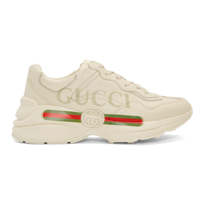 Gucci Off-White Vintage Logo Rhyton