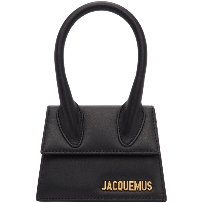 Shoptagr | Black 'le Chiquito' Clutch by Jacquemus