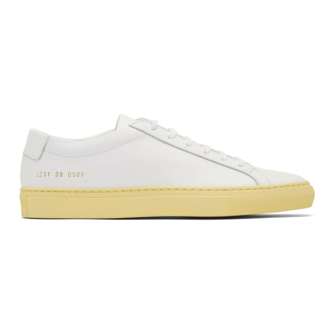 Common Projects White Achilles Low