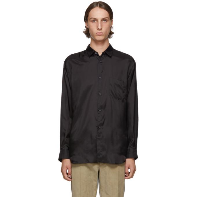 black-taffeta-shirt by comme-des-garÇons-shirt