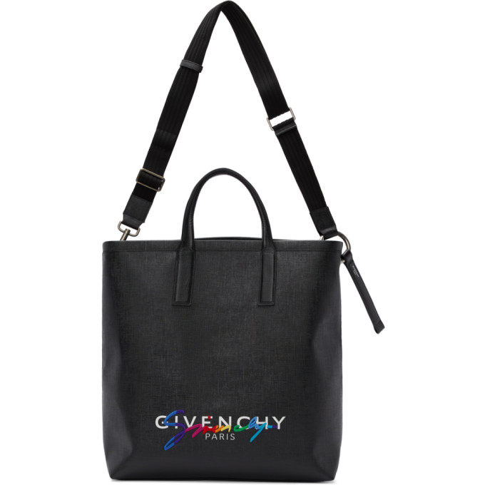 Shoptagr | Black Rainbow Signature Tote by Givenchy