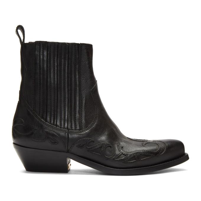 Golden Goose Black Limited Edition Santiago Boots