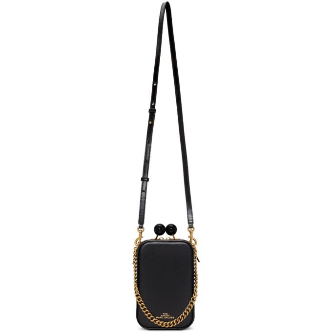 Marc Jacobs Black The Vanity Bag