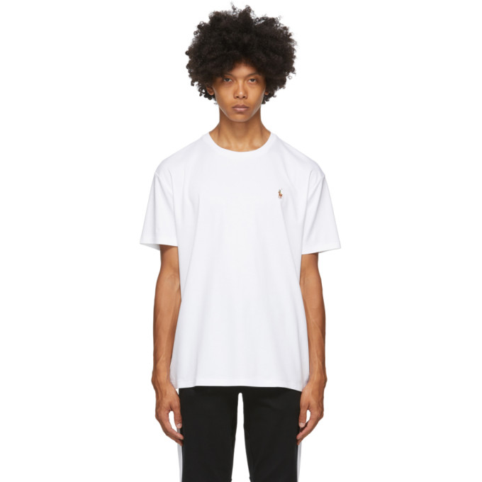 Polo Ralph Lauren White Classic Soft T-Shirt
