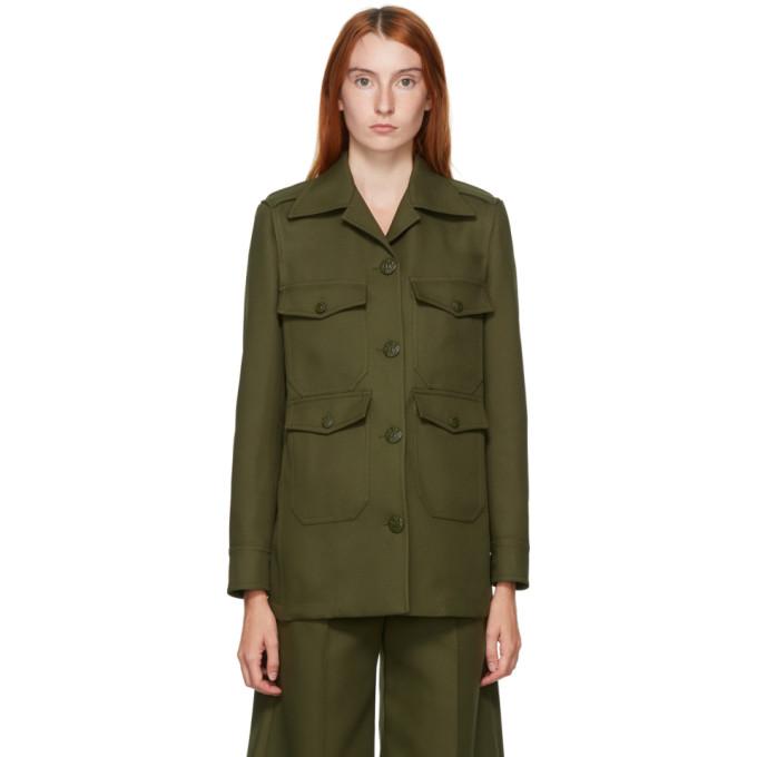 Stella McCartney Khaki Eliza Military Jacket