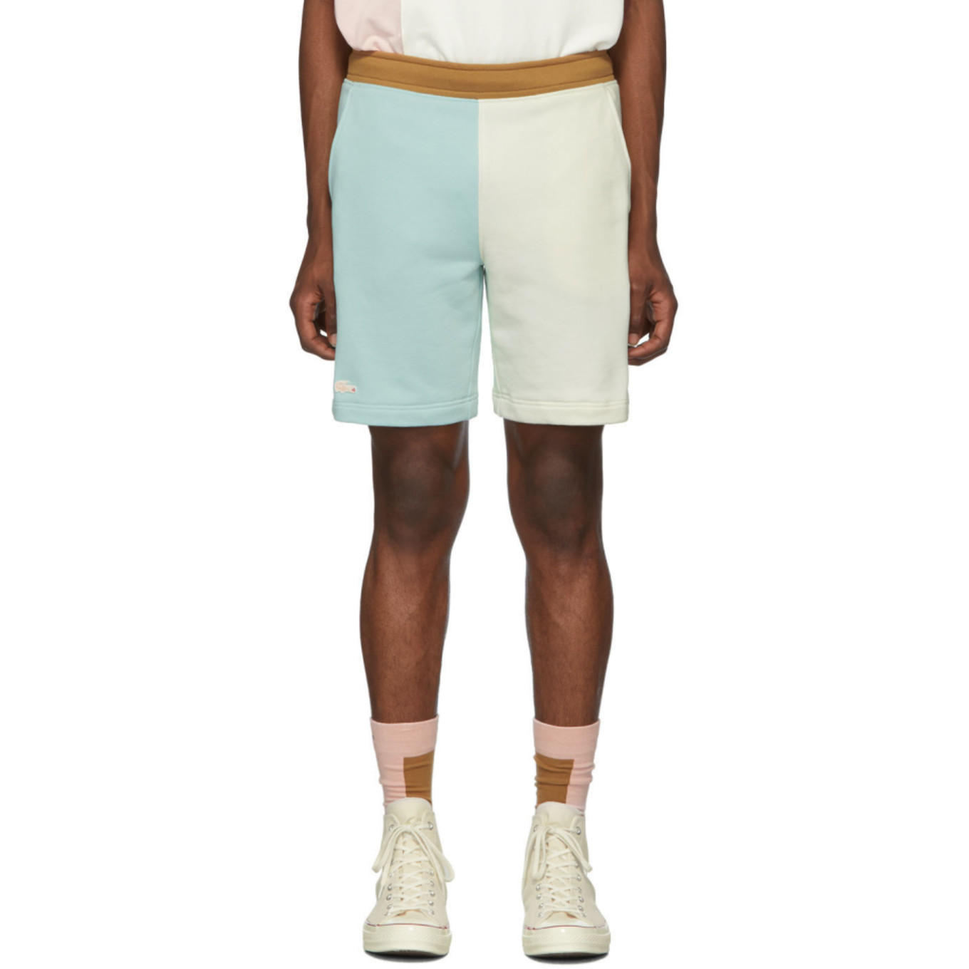 blue-&-off-white-golf-le-fleur*-edition-bermuda-shorts by lacoste