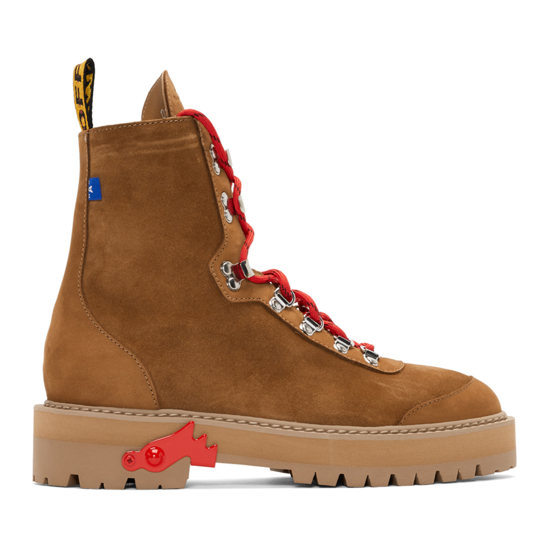 ブラウン ハイキング ブーツ
