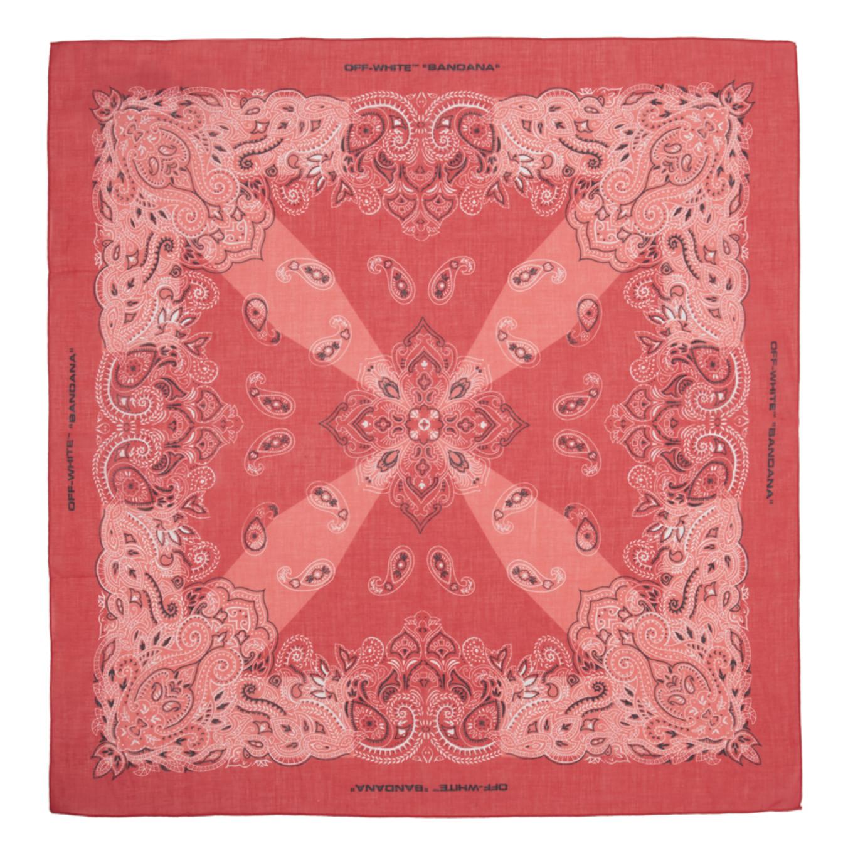 レッド バンダナ スカーフ