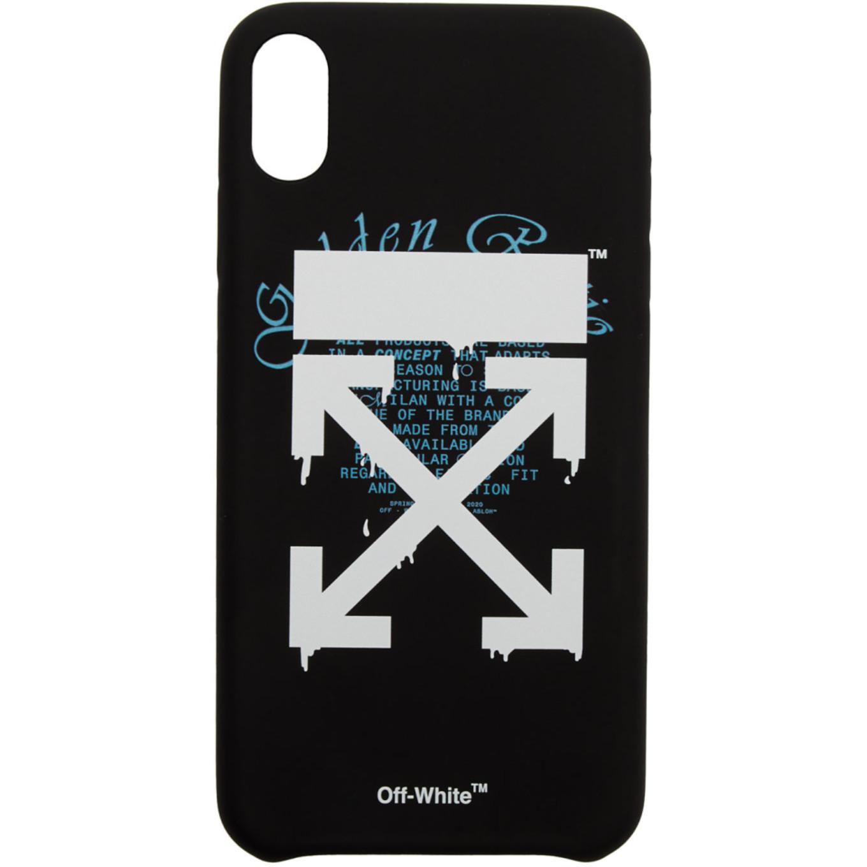 ブラック ドリップ アロー iPhone XS Max ケース