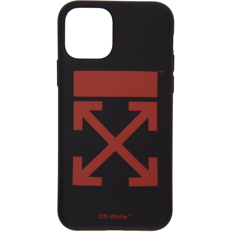 SSENSE 限定 ブラック & レッド アロー iPhone 11 Pro ケース