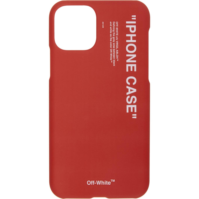 SSENSE 限定 レッド クォート iPhone 11 Pro ケース