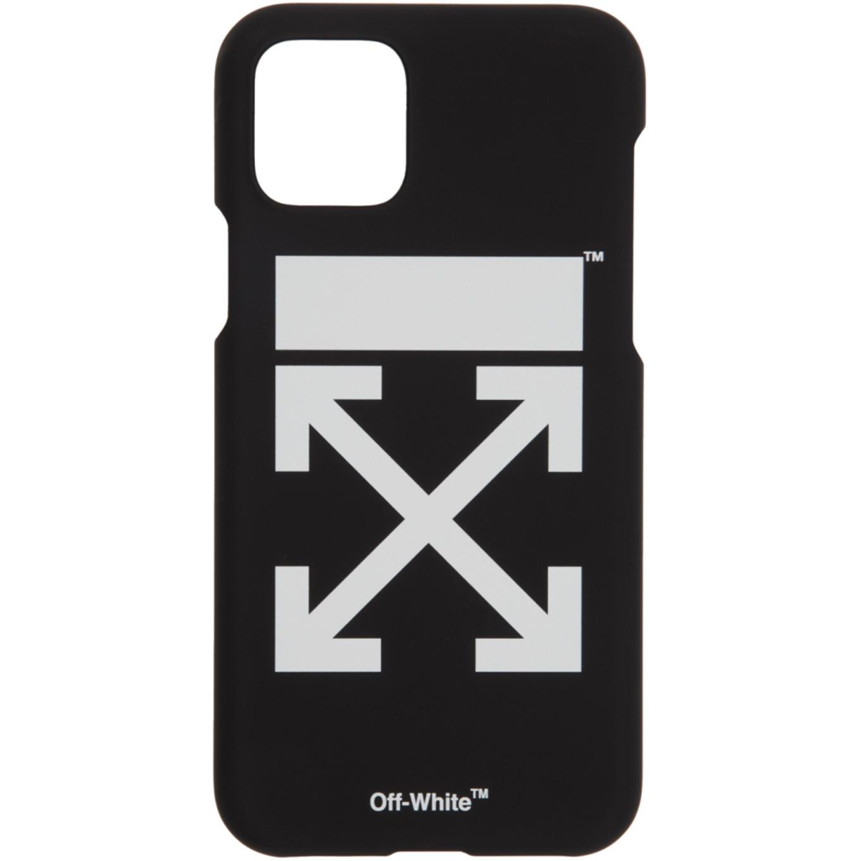 SSENSE 限定 ブラック & ホワイト アロー iPhone 11 Pro ケース