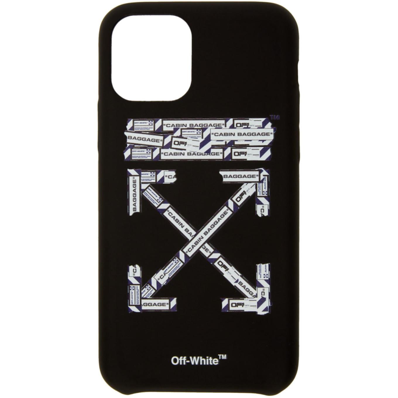 ブラック エアポート テープ iPhone 11 Pro ケース