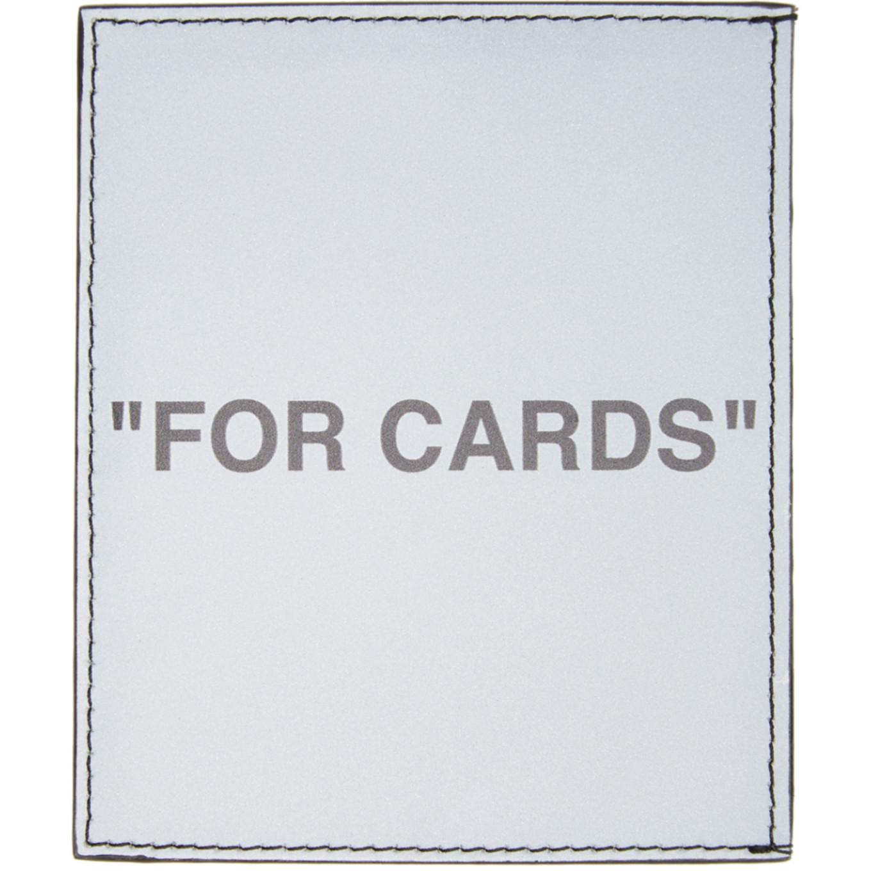 シルバー クォート カード ホルダー