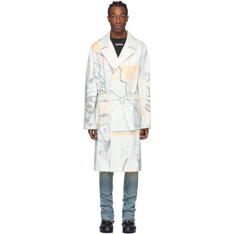 Futura Edition ホワイト トレンチ コート