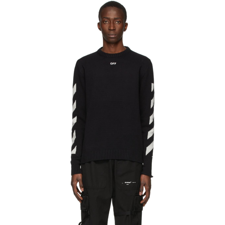 ブラック Diag セーター