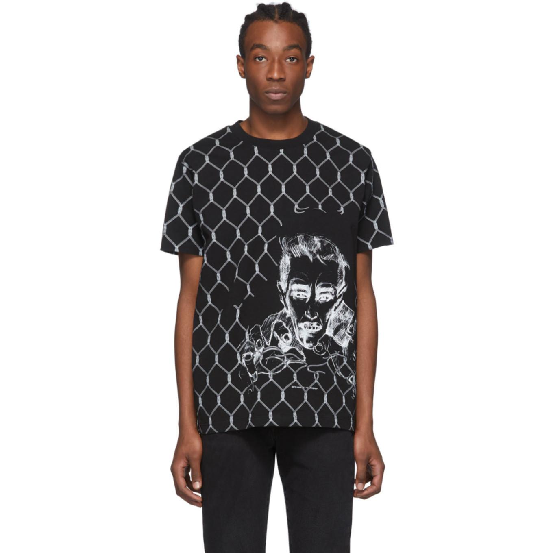 ブラック フェンス T シャツ