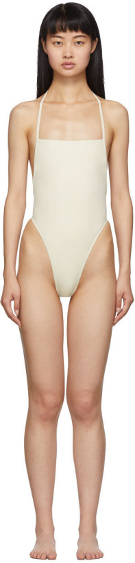 Rudi Gernreich Off-White 'The Original Thong' One-Piece Swimsuit