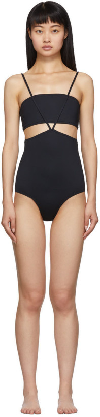 Rudi Gernreich Black Bandeau Bikini