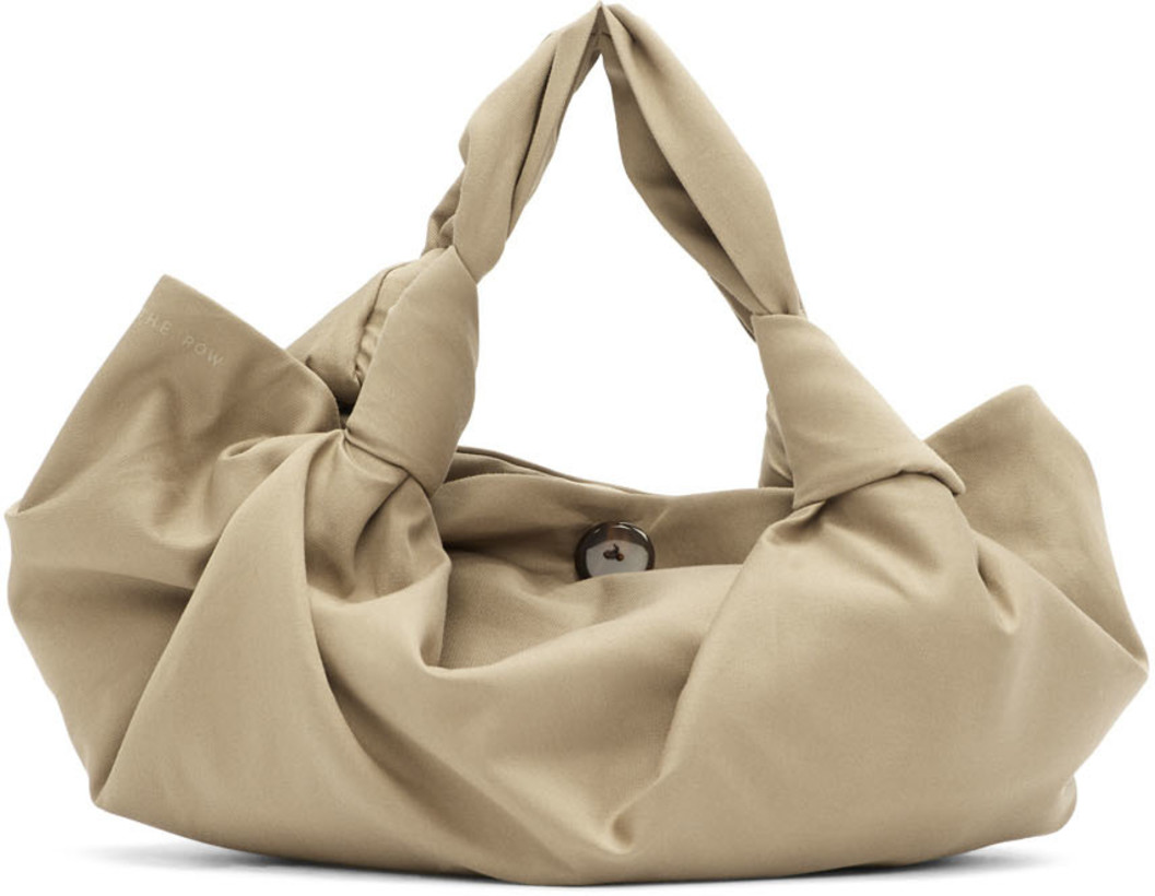 The Row Beige Ascot Two Bag