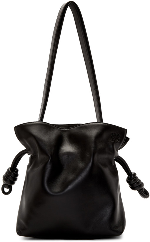 Loewe Black Small Flamenco Knot Bag