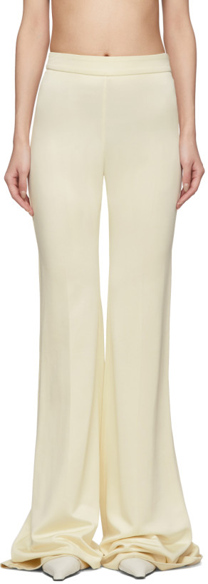 Kwaidan Editions Off-White Flared Trousers