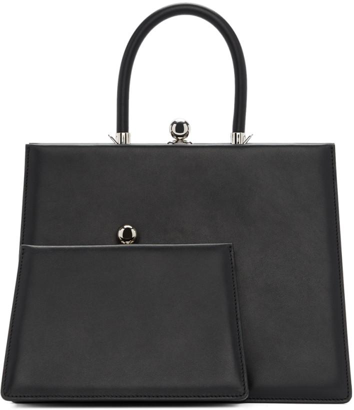 Ratio et Motus Black Twin Frame Bag