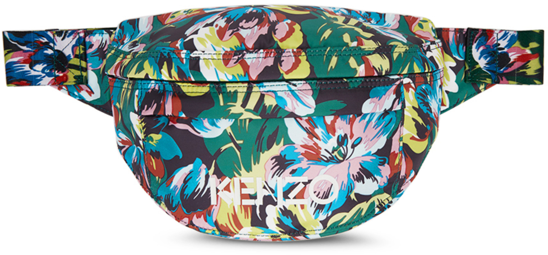 Kenzo Black Vans Edition Floral Bum Bag