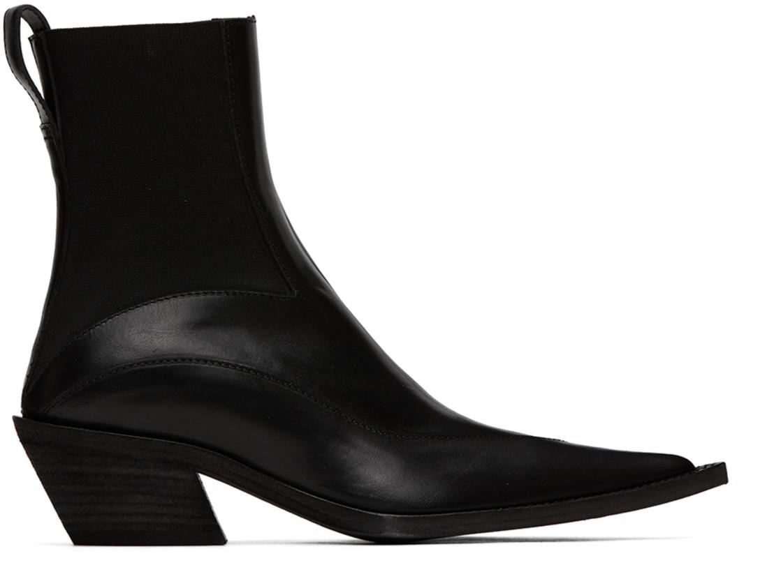 Haider Ackermann Black Elasticated Boots