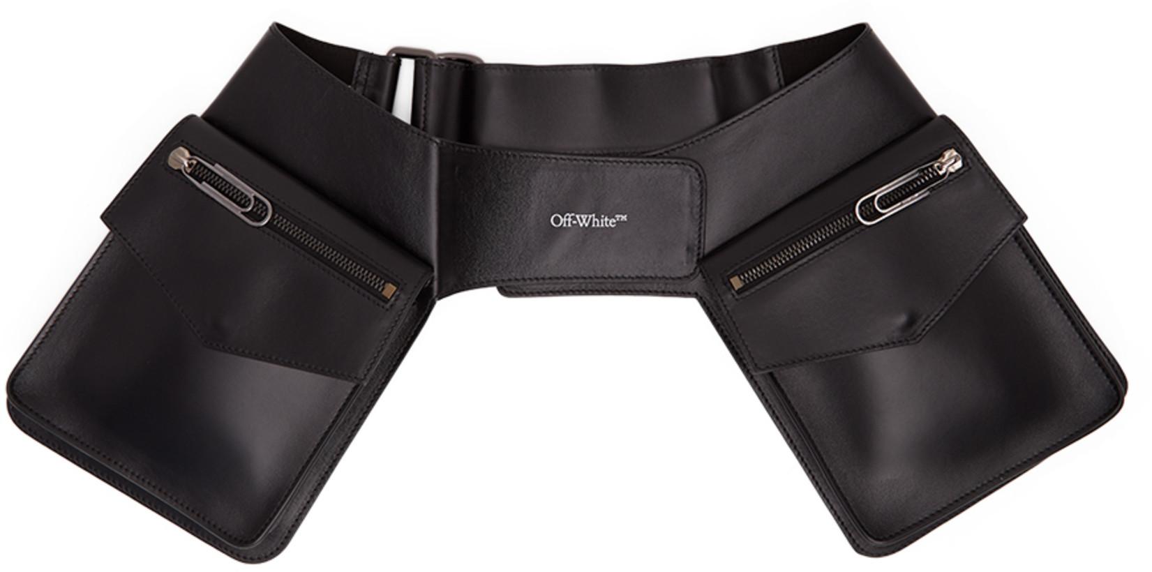 Off-White Black Pouch Belt Bag