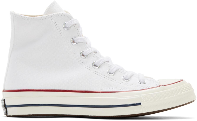 Converse ホワイト Chuck 70 ハイ スニーカー メンズ ¥10631.8 JPY