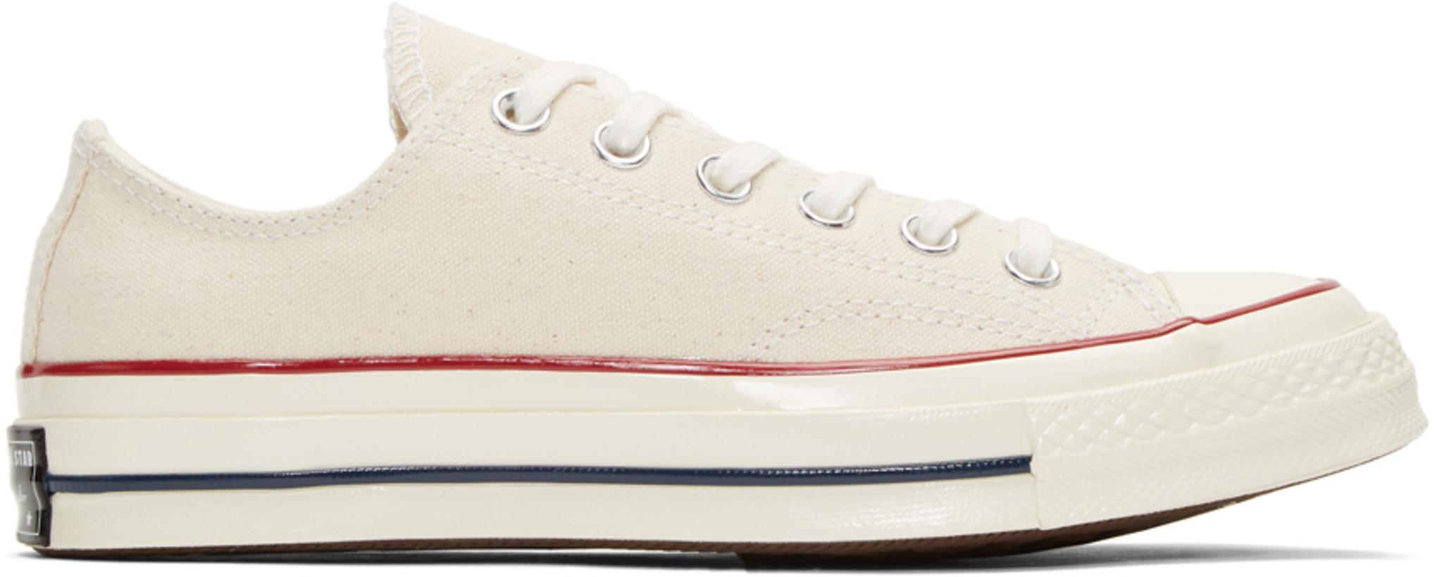 Converse オフホワイト Chuck 70 ロー スニーカー メンズ ¥8904 JPY