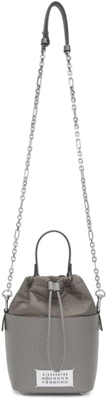 Maison Margiela Grey 5AC Bucket Bag